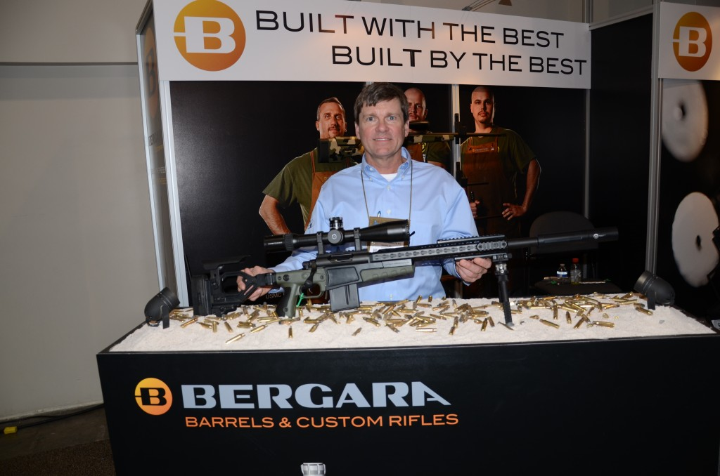 Dudley McGarity with Bergara Custom Rifle