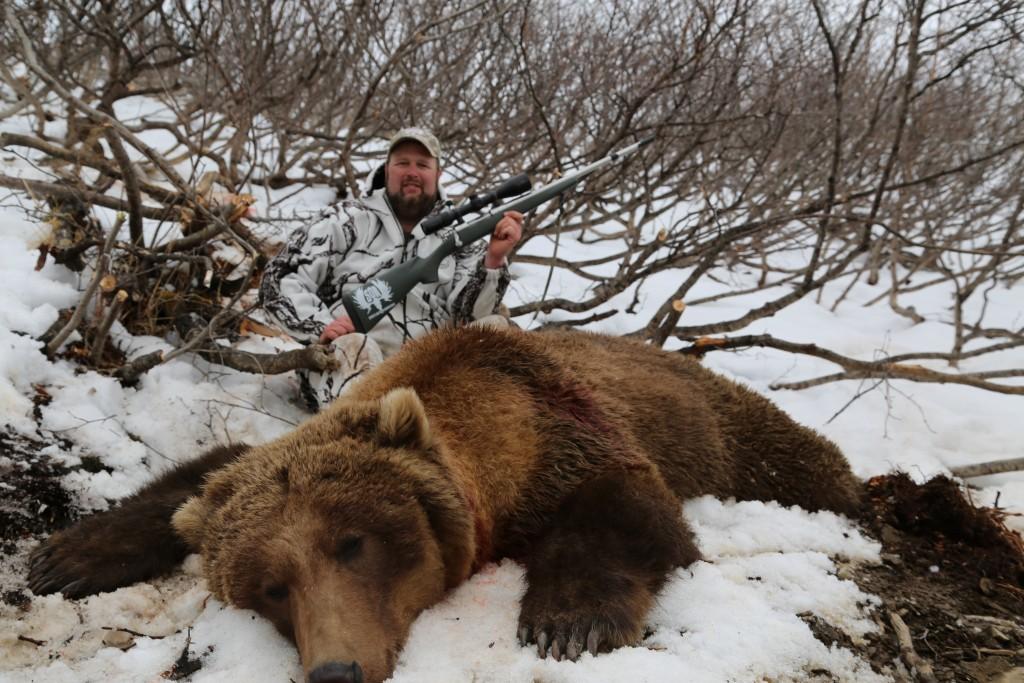 Steve West Outdoor Adventures Brown Bear Resized