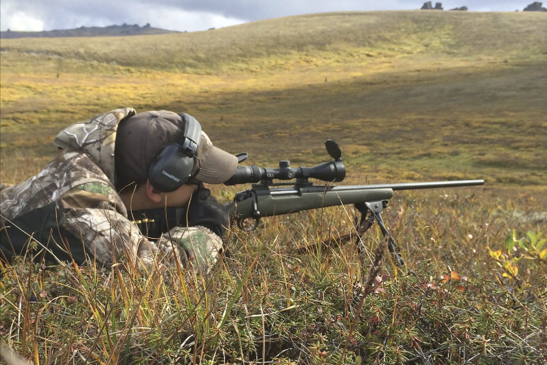 The .243 packs a punch and is the perfect round for youngsters to get started with in big-game hunting.