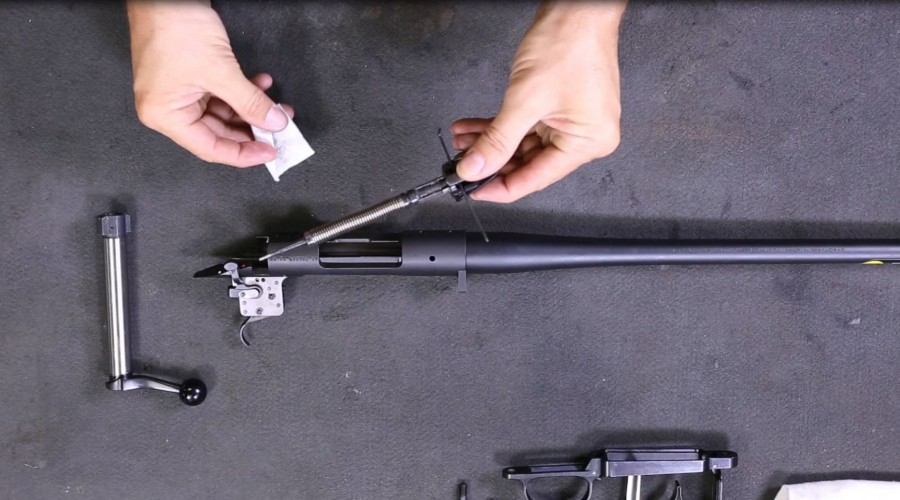 How to Disassemble and Clean the Bolt of a Bergara B-14