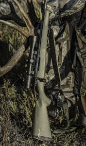 B14 Bergara Rifle on Elk Pack